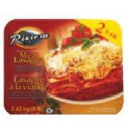 Image of Riveria Meat Lasagna 2 X 4 Lb Ea