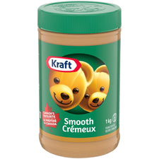 Image of Kraft Smooth Peanut Butter1Kg
