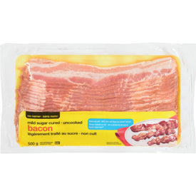Image of No Name Bacon, Reduced Salt 500 G