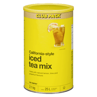 Image of NO NAME California Style Iced Tea Mix 2.1 kg