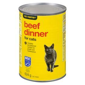 No Name Chunky Beef Dinner For Cats 624 G