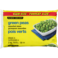 No Name Club Pack Green Peas 2KG