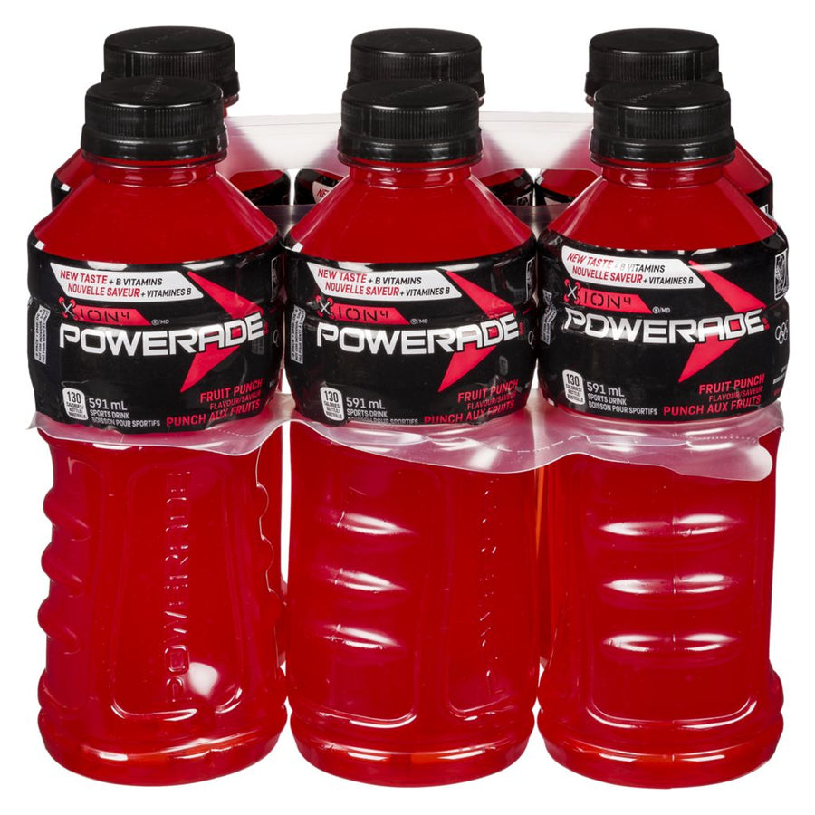 Powerade Fruit Punch6X591Ml