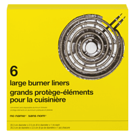 Image of NN Large Electric Burner Liners 6Pk