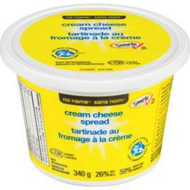 Image of No Name Plain Cream Cheese Spread 340 G