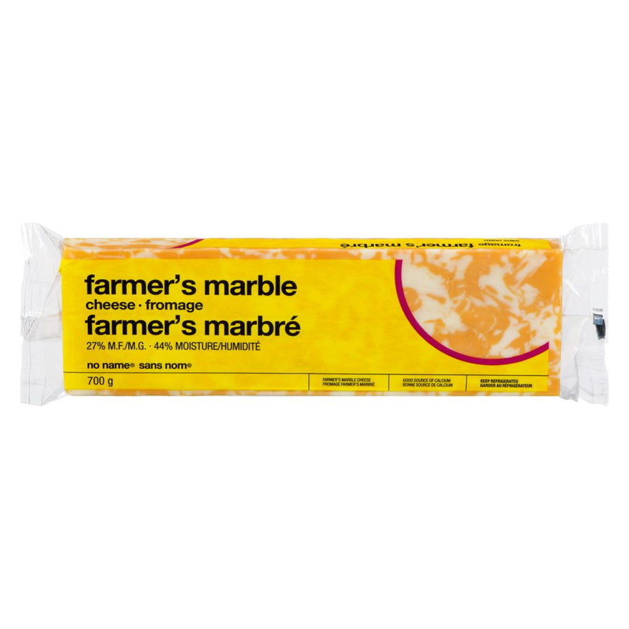 No Name Club Size Farmer's Marble Cheese 700g