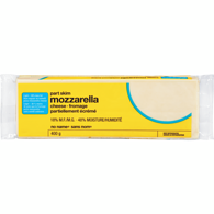No Name Mozzarella Cheese Partly Skim 200 GR