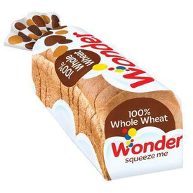 Image of Wonder 100% Whole Wheat Bread 675g