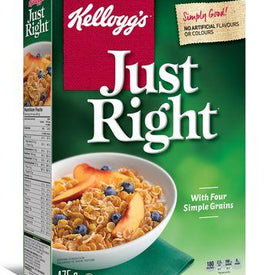 Image of Kellogg's Just Right Cereal 475g