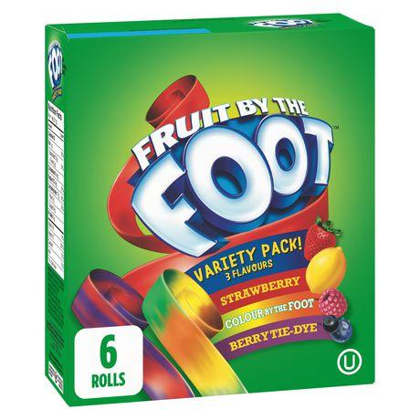 Fruit By The Foot, Variety Pack 128 g