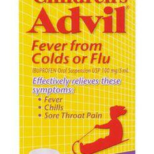 Image of Children'S Advil Cold & Flu Liquid Grape 100 Ml