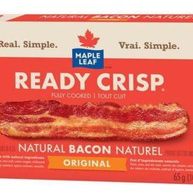 Image of Maple Leaf Ready Crisp Bacon Strips 65 G