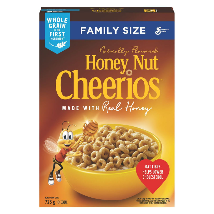 Cheerios™ Honey Nut Cereal Family Size 725 g