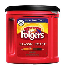 Image of Folgers Classic Roast Ground Coffee 920g