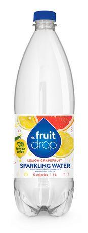 Fruit Drop Sparkling Water, Lemon Grapefruit1L