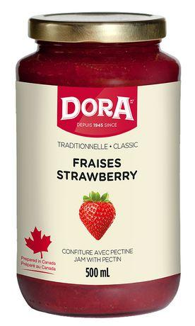 Dora Strawberry Jam With Pectin500mL