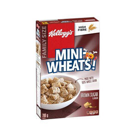 Image of Kellogg's Mini-Wheats Cereal, Brown Sugar 700g