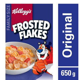 Image of Kellogg's Frosted Flakes Cereal, Family Size 650g