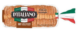 Image of D'Italiano Thick Slice Bread, Whole Wheat 675g