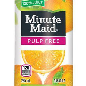 Image of Minute Maid Pulp Free Orange Juice 295Ml