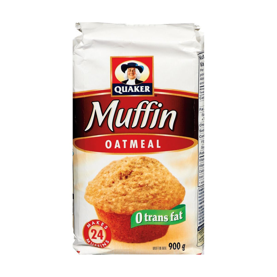 Quaker Oatmeal Muffin Mix 900g