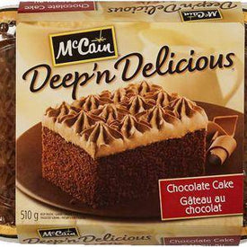 Image of McCain Chocolate Deep & Delicious Cake 510 g