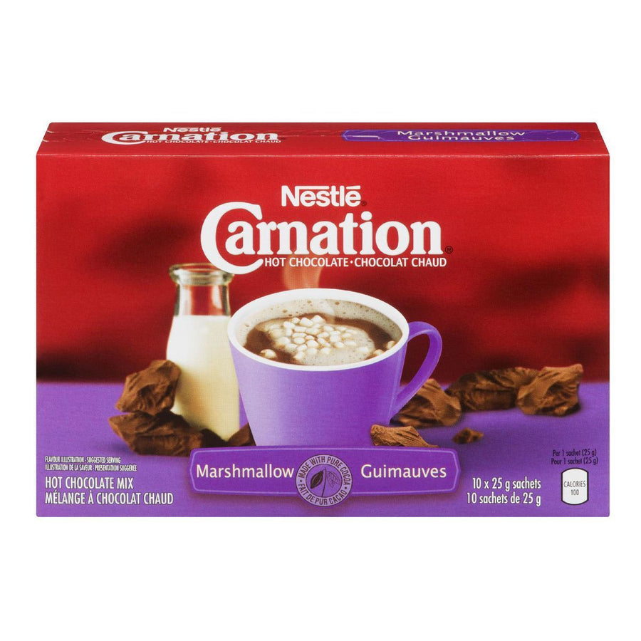 Carnation Hot Chocolate, Marshmallow10x25g
