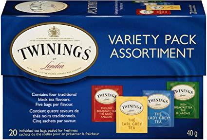 Twinings Variety Pack Tea Bags 20pk