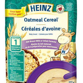 Image of Heinz Baby, Oatmeal Cereal With Milk 227g