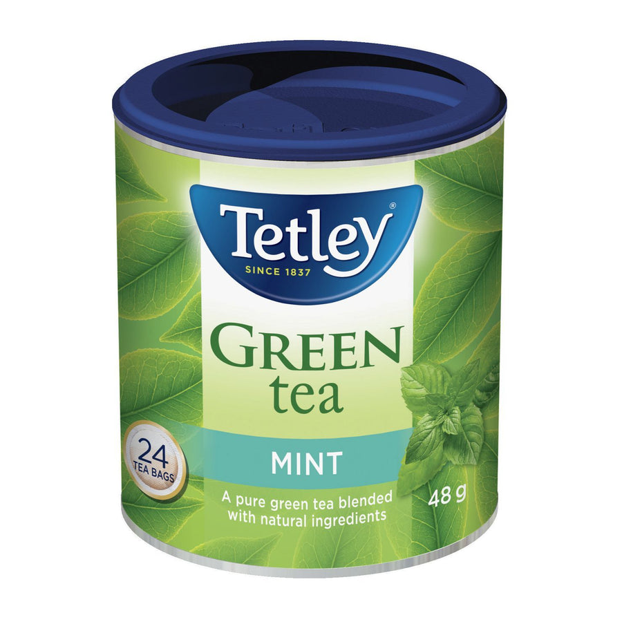 Tetley Mint Green Tea 24pk