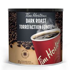 Image of Tim Hortons Dark Roast Fine Ground Coffee 875g