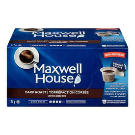 Image of Maxwell House Dark  Roast Pods 117g