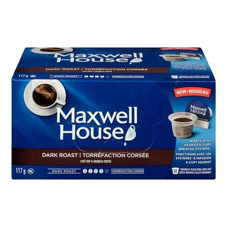 Maxwell House Dark  Roast Pods 117g