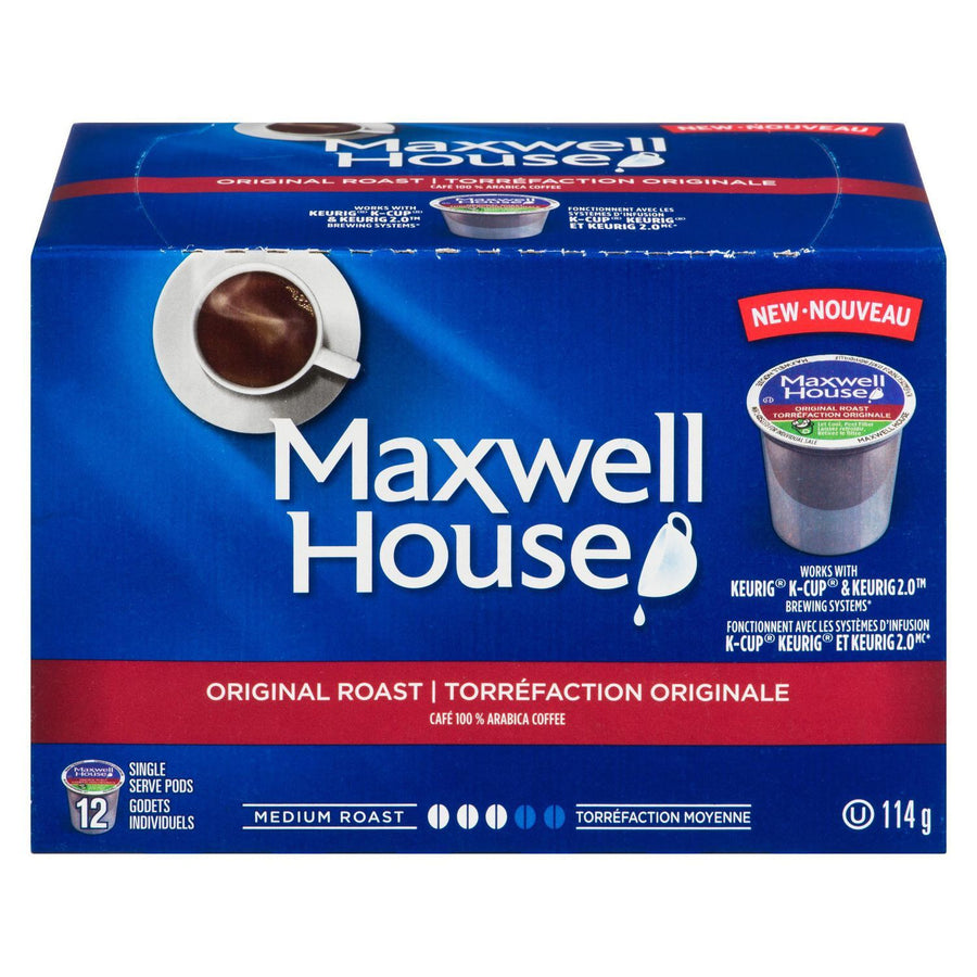 Maxwell House Original Roast Pods 114g