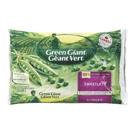 Green Giant Frozen Vegetables - Sweetlets Peas 750g