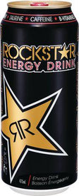 Image of Rock Star Black Energy Drink Double Size 473 Ml
