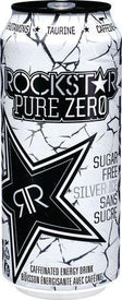 Image of Rock Star Pure Zero Silver Ice 473 Ml
