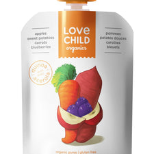 Image of Love Child, Organic Apples, Sweet Potatoes, Broccoli & Spinach 128 mL