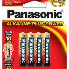Image of Panasonic Alkaline Plus AAA 4pk