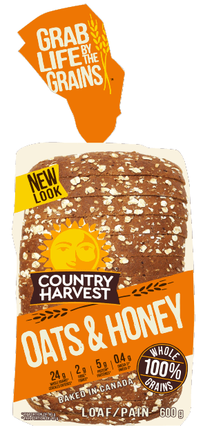 Country Harvest Bread, Oat Honey 675g