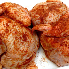 Image of Chicken Halves Spice Added