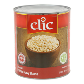 Image of Clic White Navy Beans 540 mL