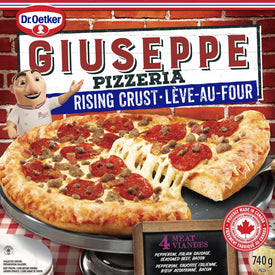 Image of DR. OETKER GIUSEPPE RC PIZZERIA 4 MEAT PIZZA 740 G