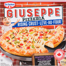 Image of DR.OETKER GIUSEPPE RC PIZZERIA ROASTED CHICKEN PIZZA 715 G