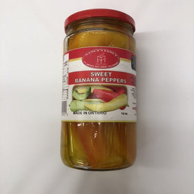 Image of Nancy Fancy Sweet Banana Peppers 750 Ml