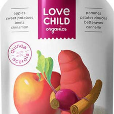 Image of Love Child, Organic Apples, Sweet Potatoes, Beets & Cinnamon Pouch 128 mL