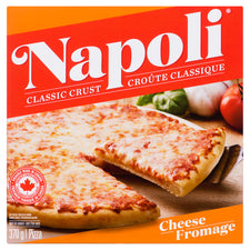 Image of NAPOLI CHEESE PIZZA 370 G