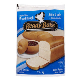 Image of Readybake 5 Pack Frozen White Bread Dough