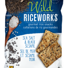 Image of Riceworks Sea Salt & Black Sesame 155 G