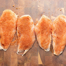 Image of Bone in Split Chicken Breasts Spice Added